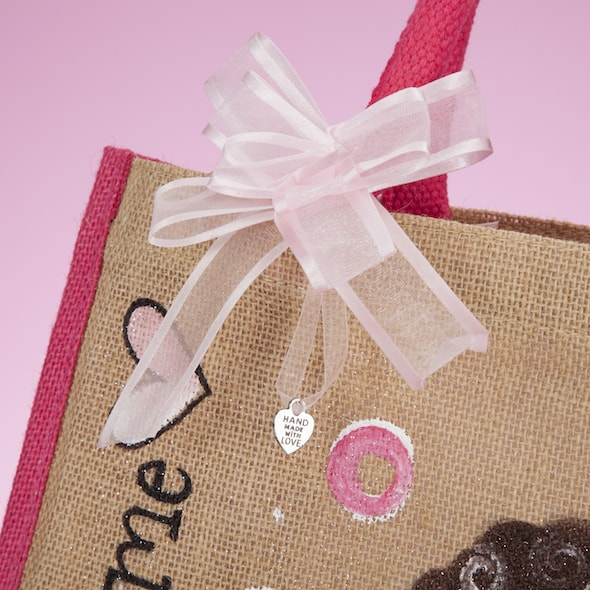 ClaireaBella Girls Colour Crush Jute Bag - Image 4