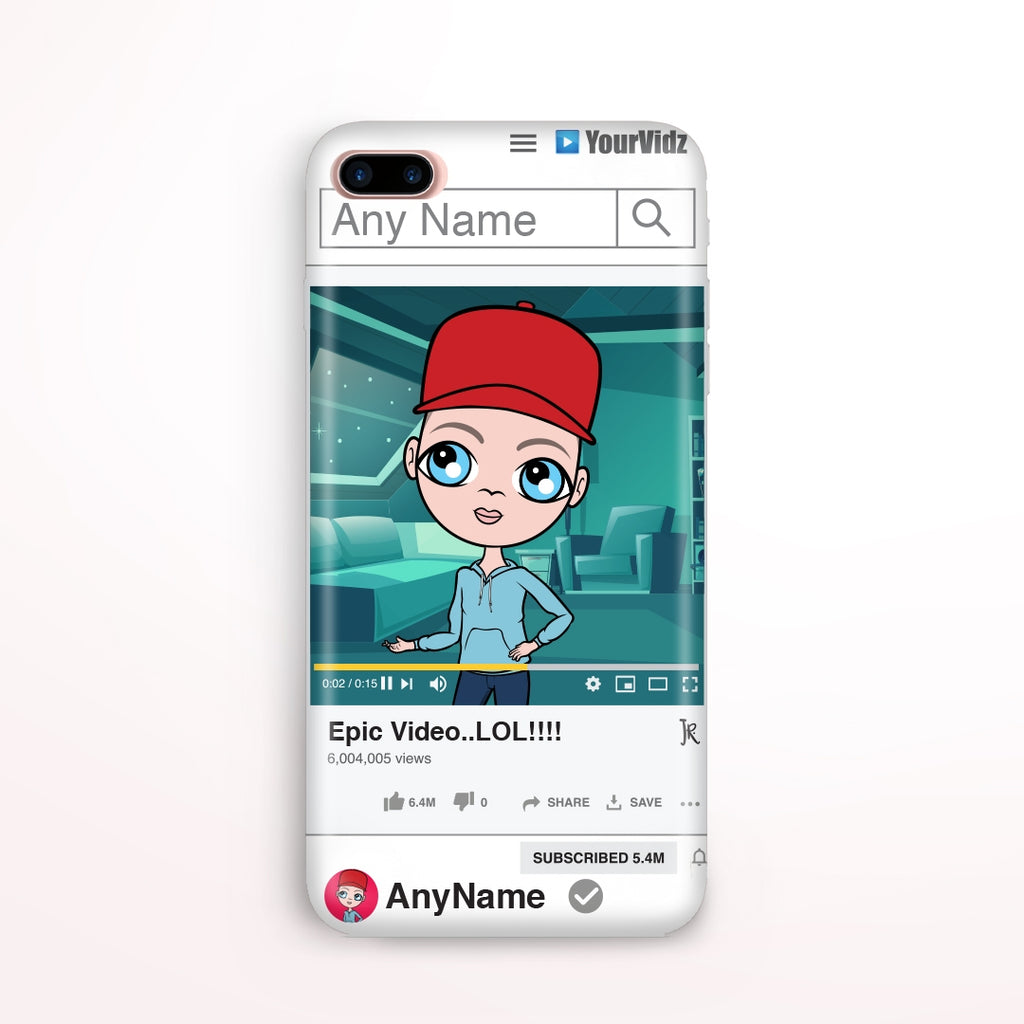 Jnr Boys Your Vidz Phone Case - Image 1
