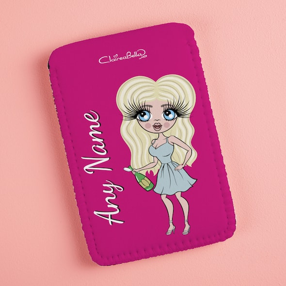 ClaireaBella Hot Pink Fabric Phone Case - Image 6