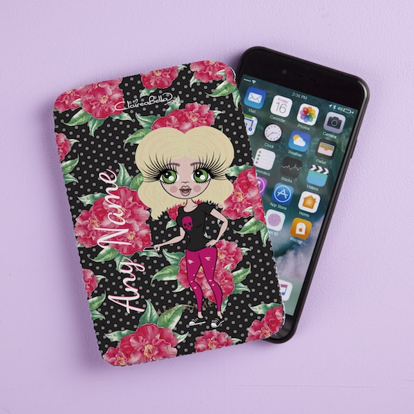 ClaireaBella Country Floral Fabric Phone Case - Image 1