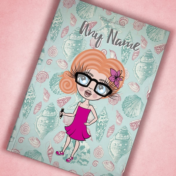 ClaireaBella Girls A5 Hardback Diary - Sea Shell - Image 7