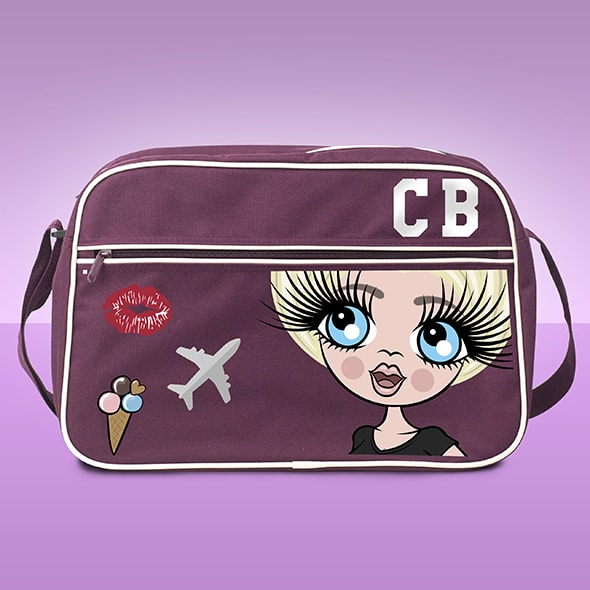 ClaireaBella Retro Large Messenger Bag - Image 1