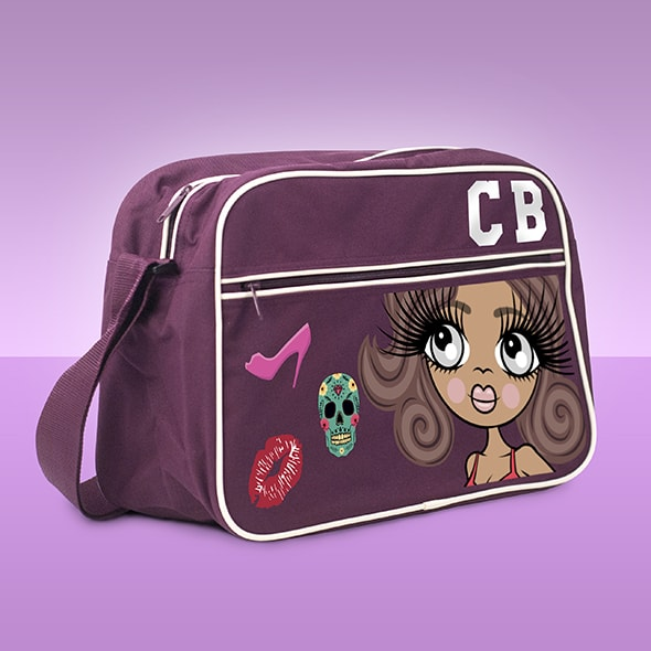 ClaireaBella Retro Large Messenger Bag - Image 4