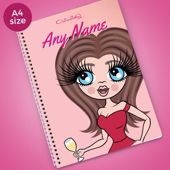 ClaireaBella Close Up A4 Softback Notebook - Image 1