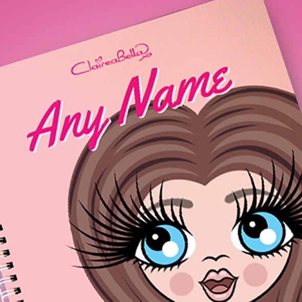 ClaireaBella Close Up A4 Softback Notebook - Image 2