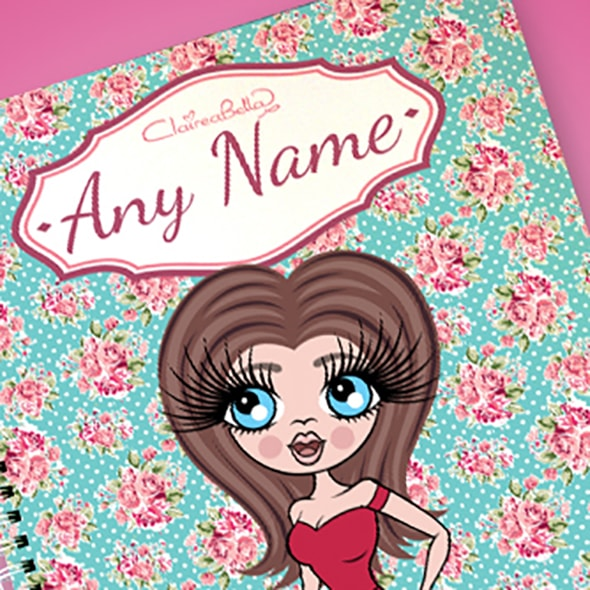 ClaireaBella Rose A4 Softback Notebook - Image 2