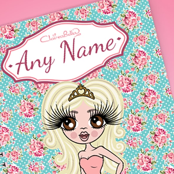 ClaireaBella Rose A5 Softback Notebook - Image 2