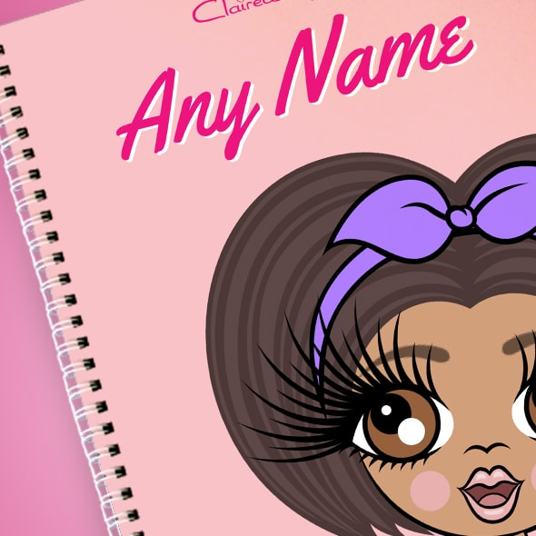 ClaireaBella Girls Close Up A4 Softback Notebook - Image 2