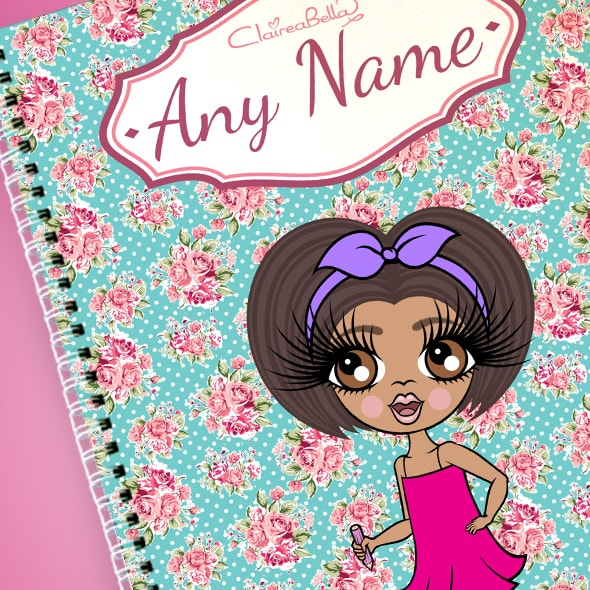 ClaireaBella Girls Rose A4 Softback Notebook - Image 2