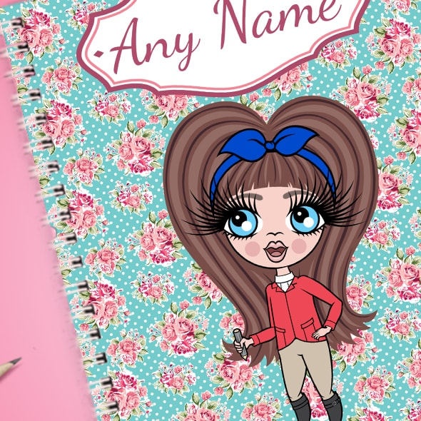 ClaireaBella Girls Rose A5 Softback Notebook - Image 2