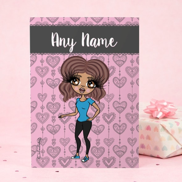 ClaireaBella Greeting Card - Boho Heart - Image 2