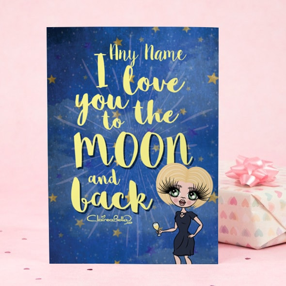 ClaireaBella Greeting Card - Love you to the Moon - Image 3