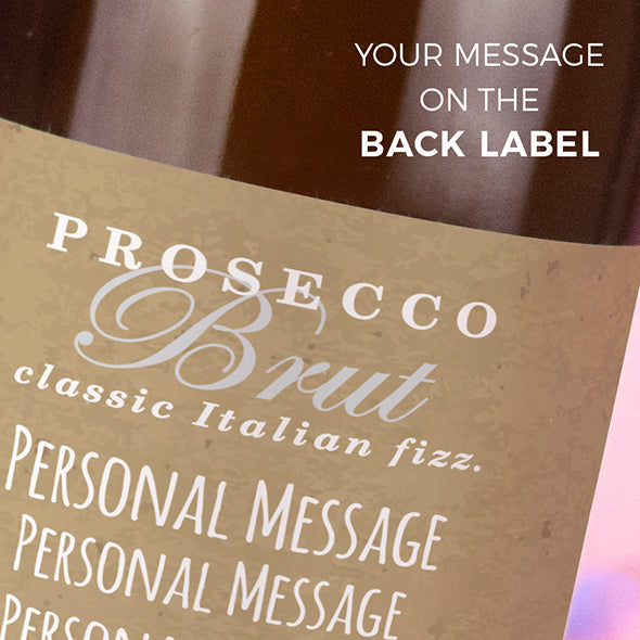 ClaireaBella Personalised Prosecco - The Golden Couple - Image 3