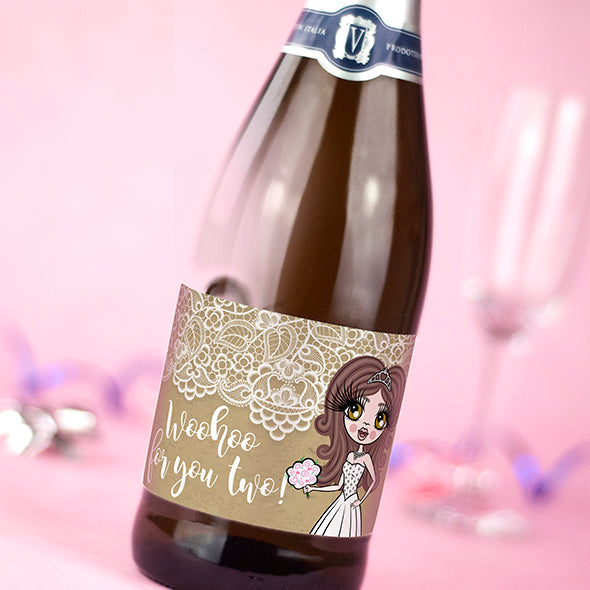 ClaireaBella Personalised Prosecco - The Golden Couple - Image 2