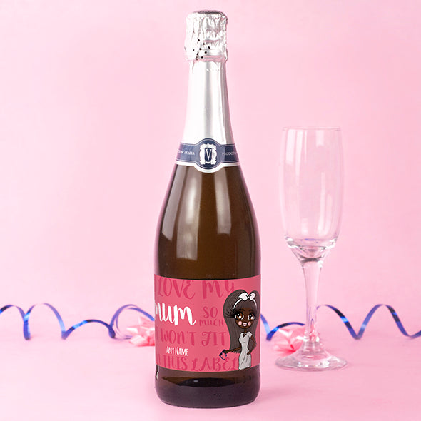 ClaireaBella Personalised Prosecco - Mummy Love - Image 1