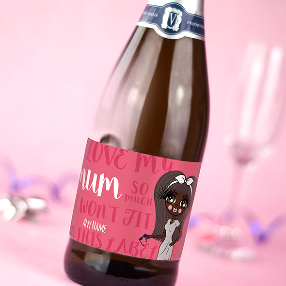 ClaireaBella Personalised Prosecco - Mummy Love - Image 2
