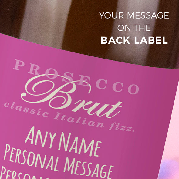 ClaireaBella Personalised Prosecco - Baby Girl - Image 3