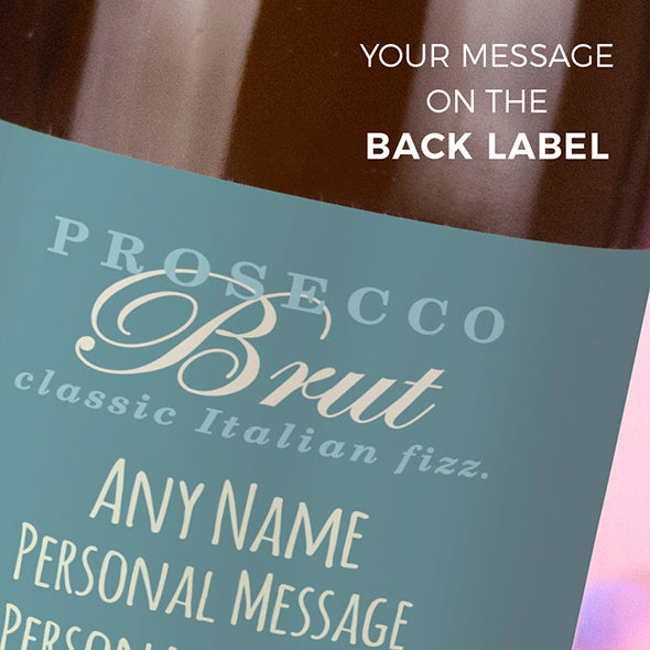 ClaireaBella Personalised Prosecco - Baby Boy - Image 3