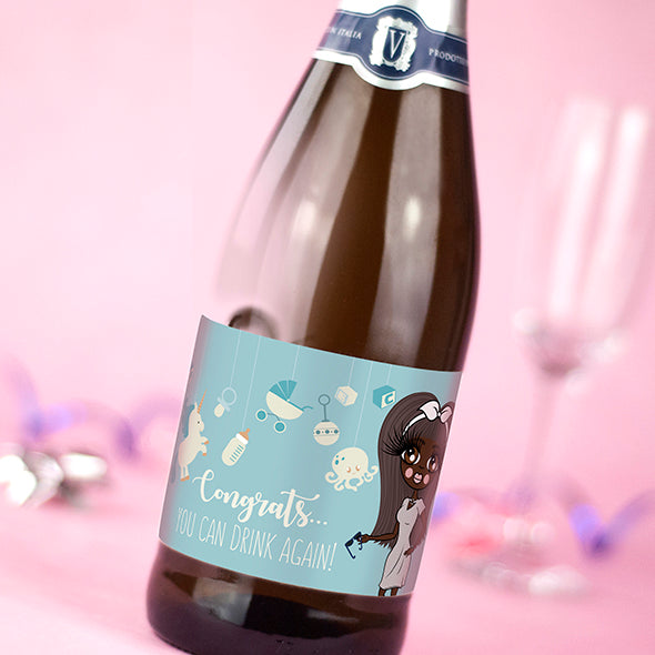 ClaireaBella Personalised Prosecco - Baby Boy - Image 2