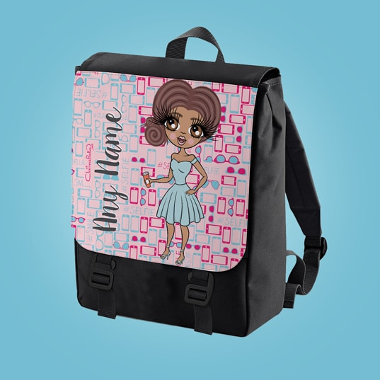 ClaireaBella Selfie Large Backpack - Image 1