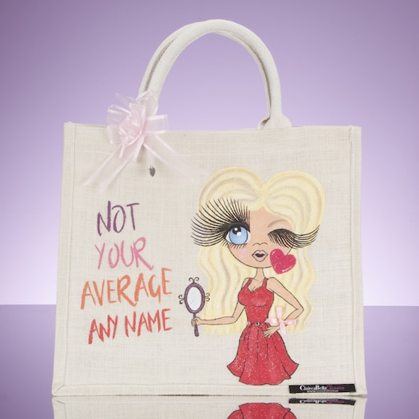 ClaireaBella Not Your Average Large Jute Bag - Image 1