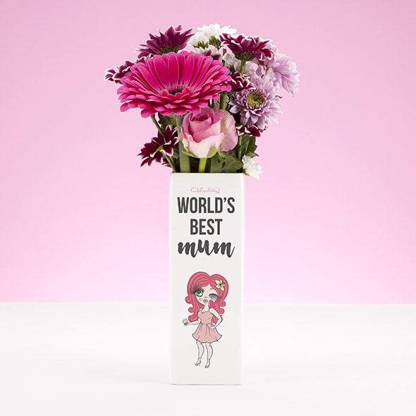 ClaireaBella Ceramic Vase - World's Best - Image 1