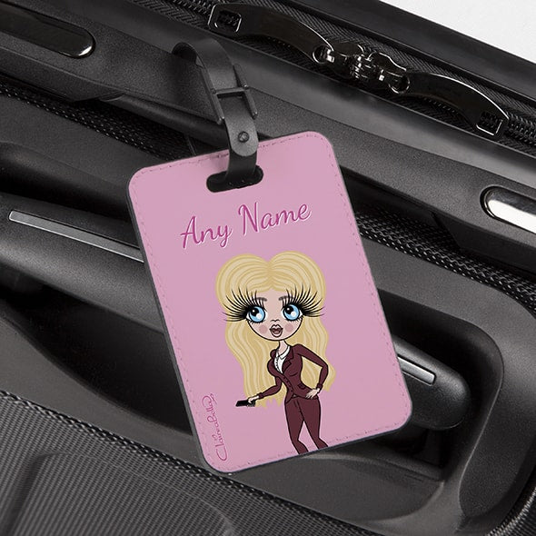 ClaireaBella Pastel Pink Luggage Tag - Image 2