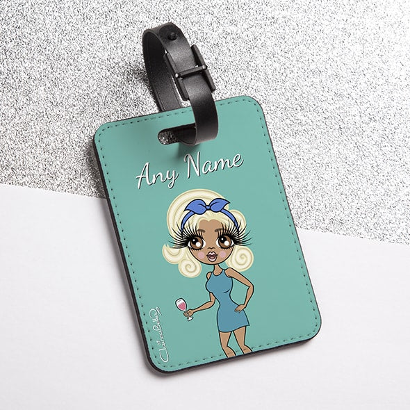 ClaireaBella Turquoise Luggage Tag - Image 1