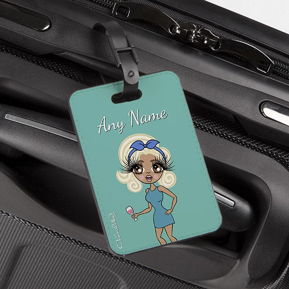 ClaireaBella Turquoise Luggage Tag - Image 2