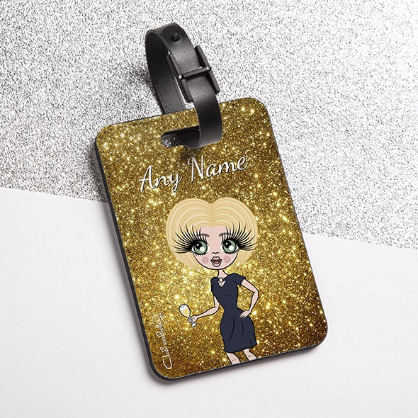 ClaireaBella Glitter Effect Luggage Tag - Image 5