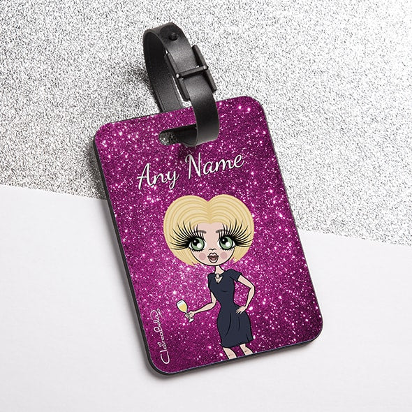 ClaireaBella Glitter Effect Luggage Tag - Image 3