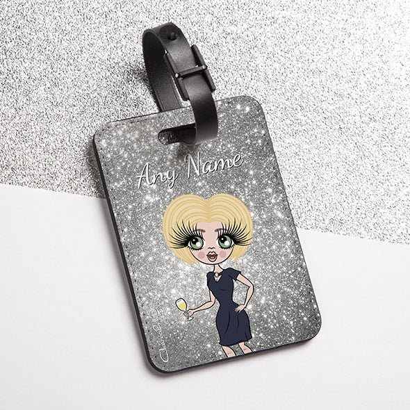 ClaireaBella Glitter Effect Luggage Tag - Image 4