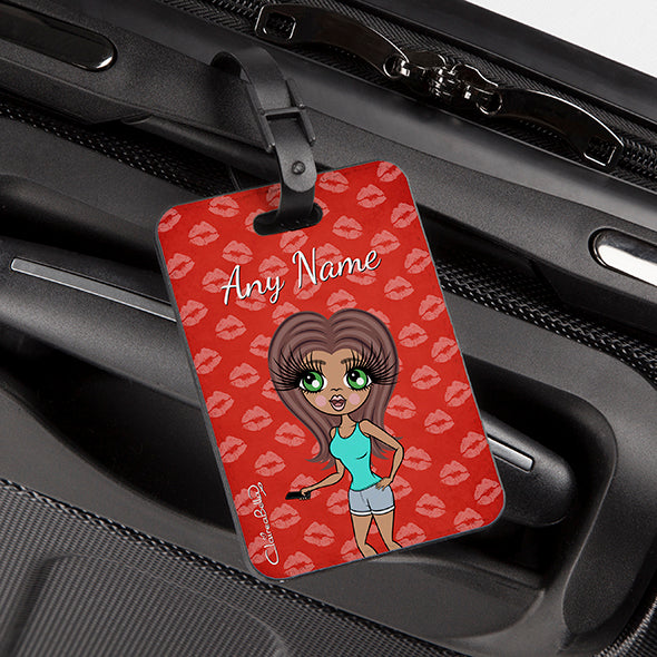 ClaireaBella Lip Print Luggage Tag - Image 2