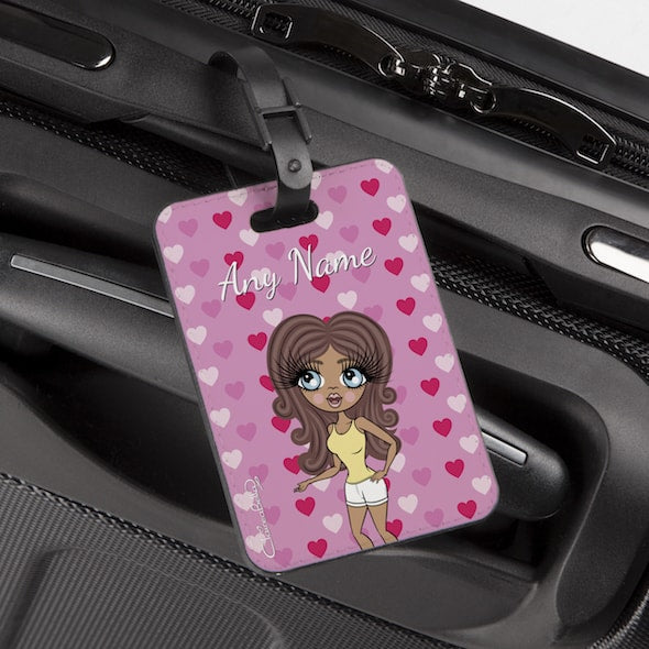 ClaireaBella Hearts Luggage Tag - Image 2