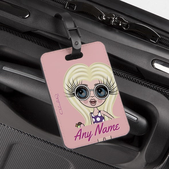 ClaireaBella Girls Close Up Luggage Tag - Image 1