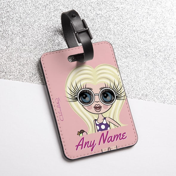 ClaireaBella Girls Close Up Luggage Tag - Image 2