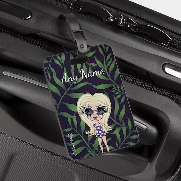ClaireaBella Girls Tropical Luggage Tag - Image 1