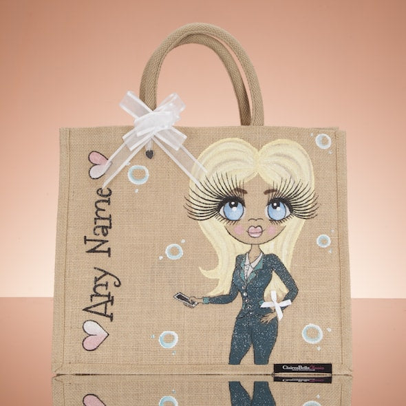 ClaireaBella Work Jute Bag - Large - Image 1
