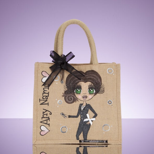 ClaireaBella Work Jute Bag - Medium - Image 1