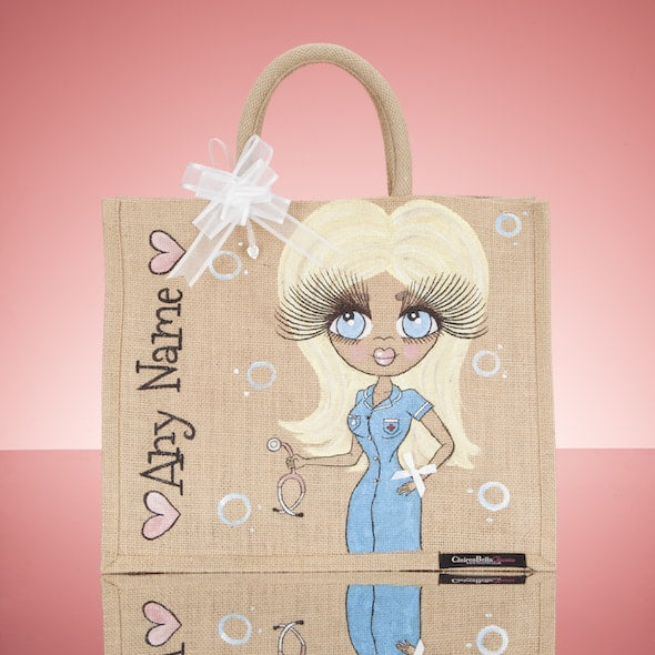 ClaireaBella Nurse Jute Bag - Large - Image 1
