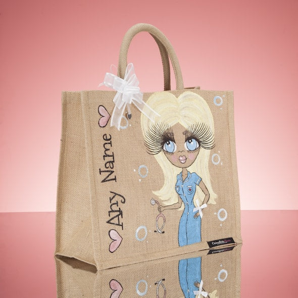 ClaireaBella Nurse Jute Bag - Large - Image 4