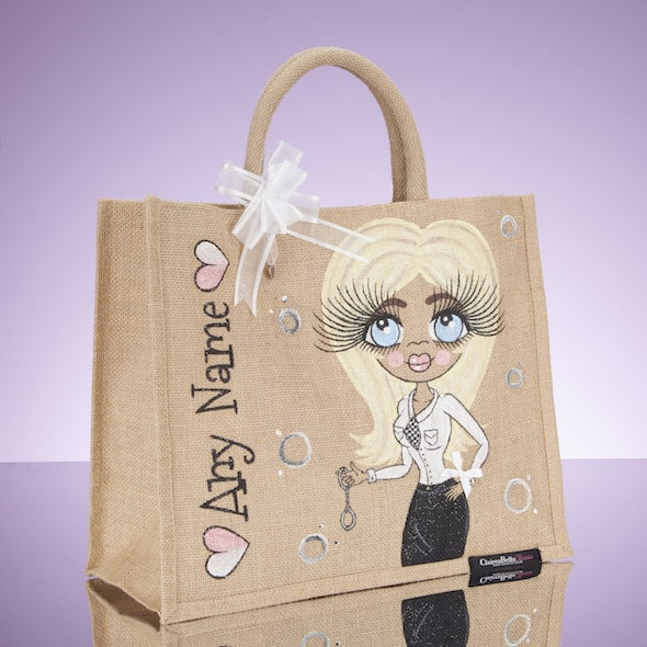 ClaireaBella Police Jute Bag - Large - Image 3