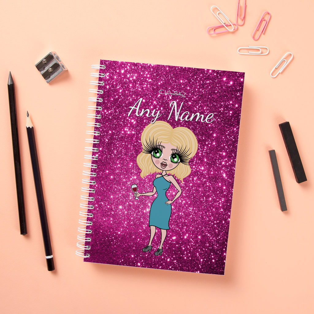 ClaireaBella Hardback Notebook - Glitter Effect - Image 1