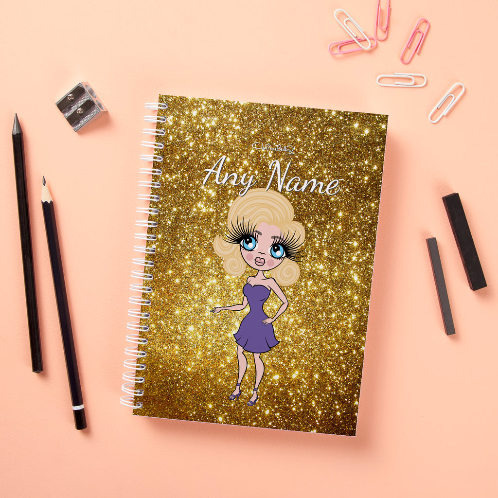 ClaireaBella Hardback Notebook - Glitter Effect - Image 5