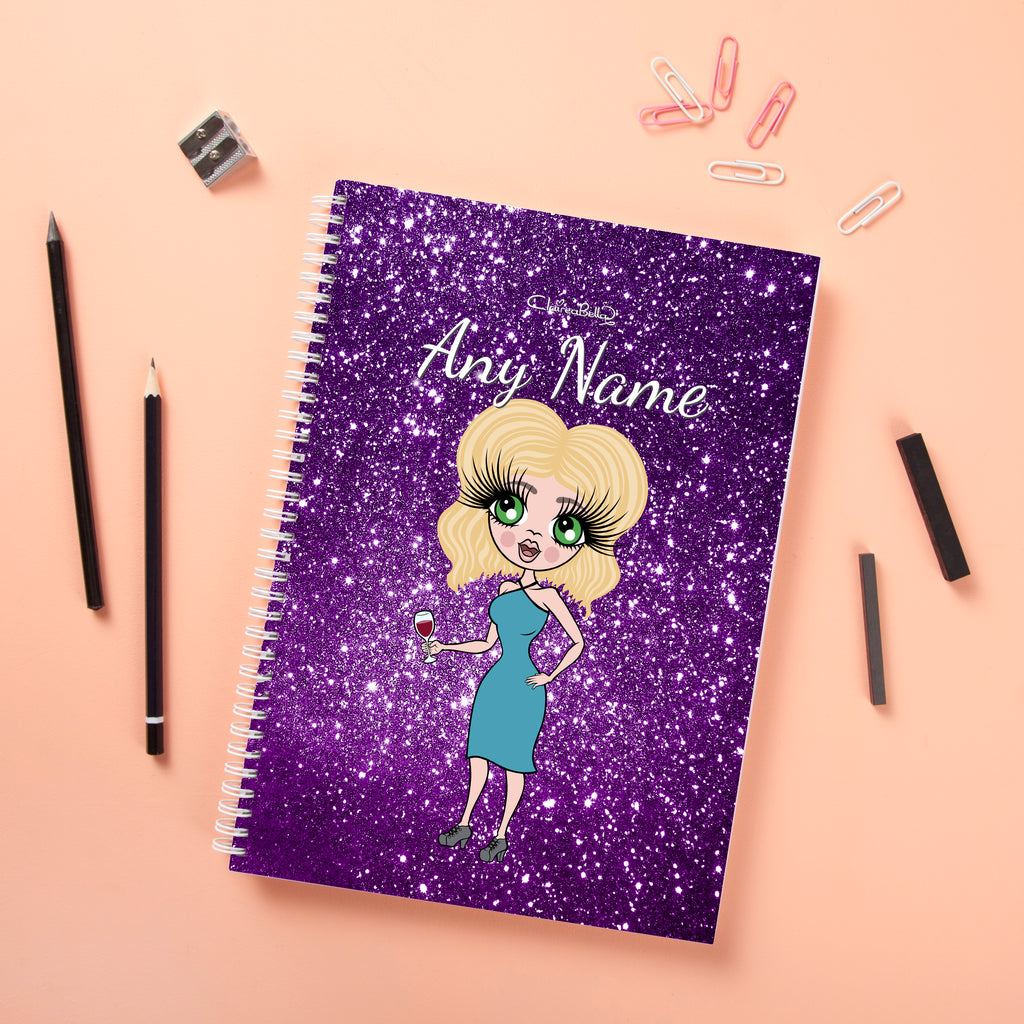ClaireaBella Hardback Notebook - Glitter Effect - Image 4