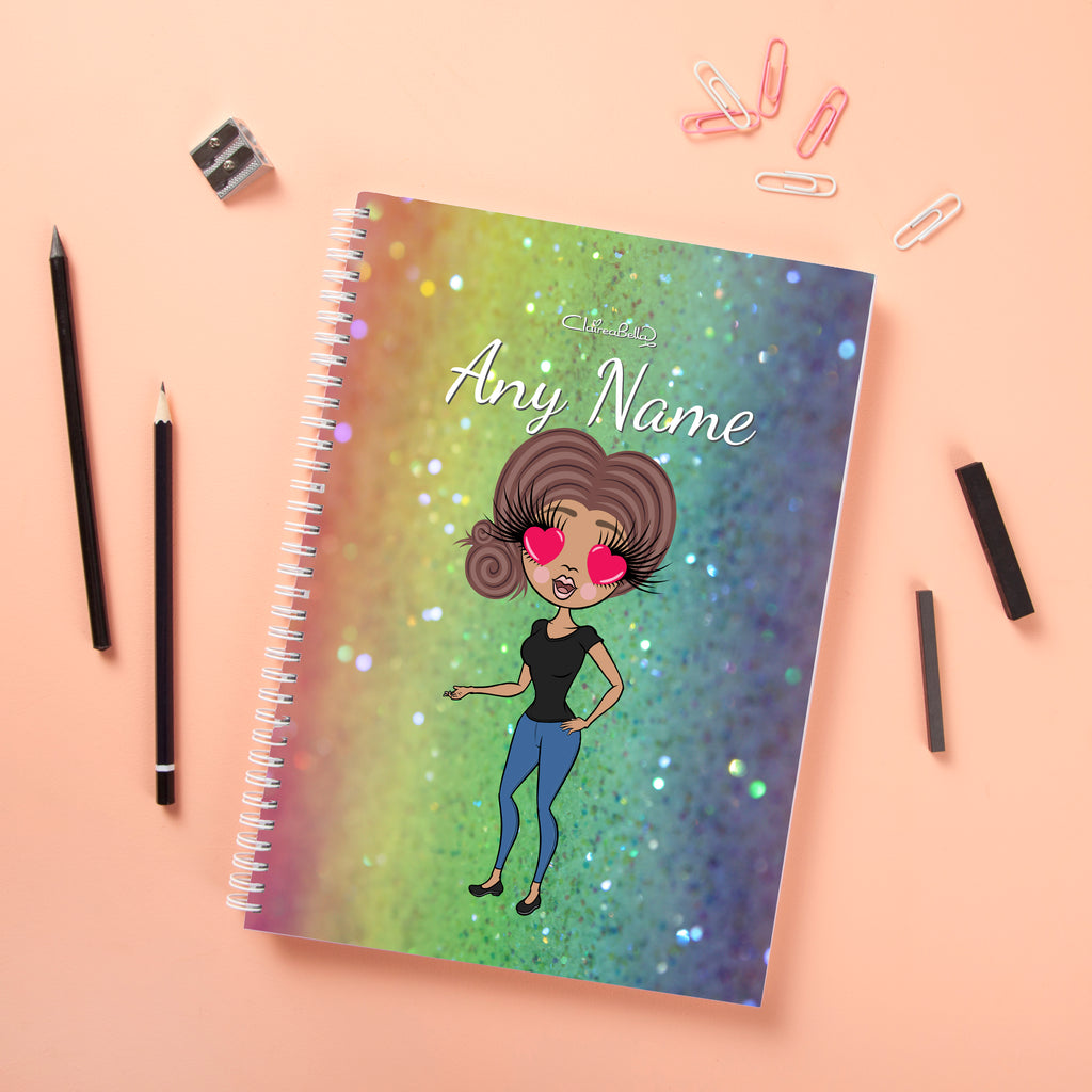 ClaireaBella Hardback Notebook - Glitter Effect - Image 3