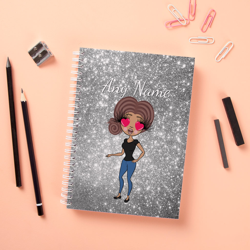 ClaireaBella Hardback Notebook - Glitter Effect - Image 2