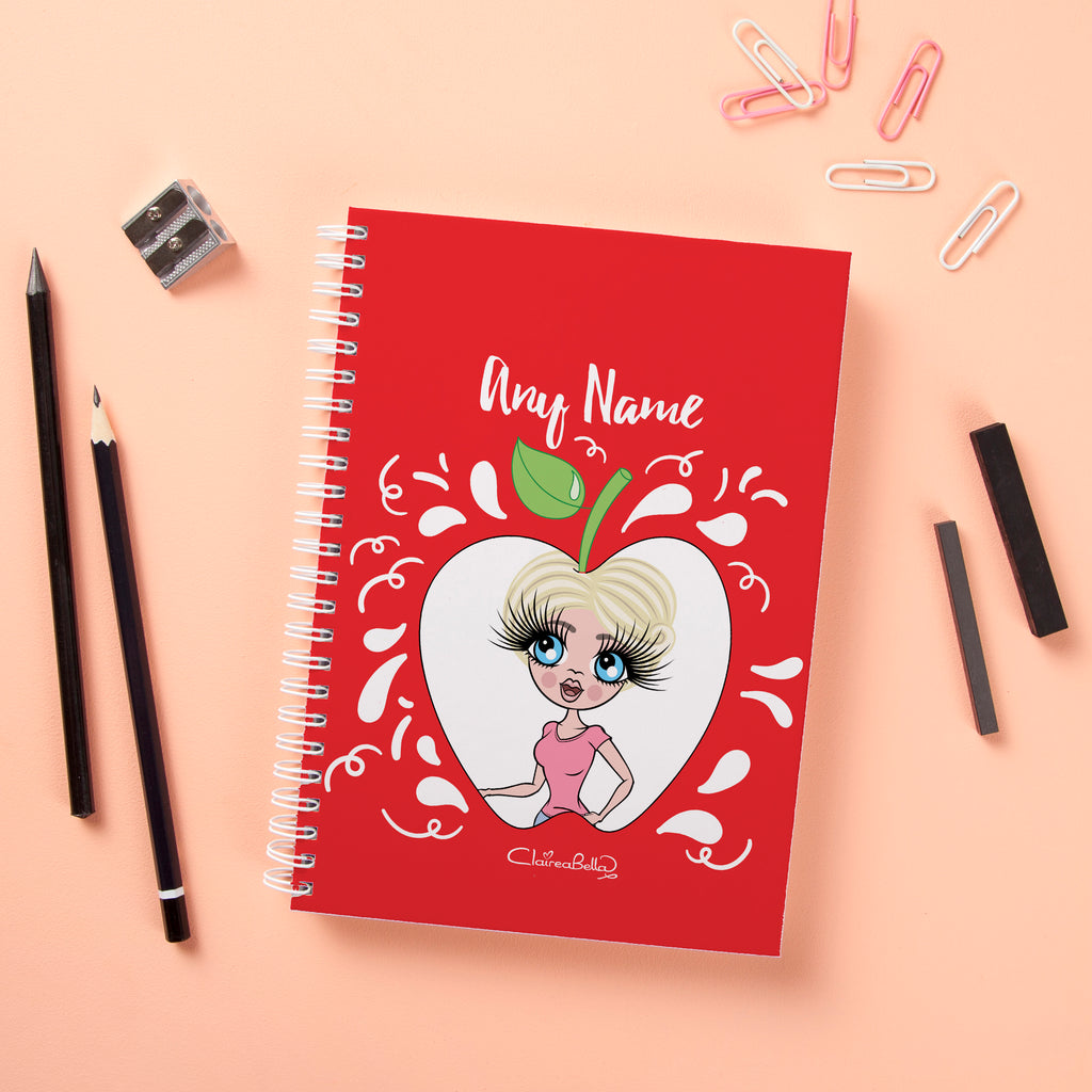 ClaireaBella Hardback Notebook - Teacher's Apple - Image 1