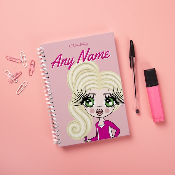 ClaireaBella Girls Hardback Notebook - Close Up - Image 1