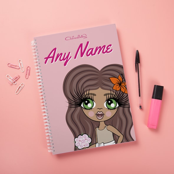 ClaireaBella Girls Hardback Notebook - Close Up - Image 3